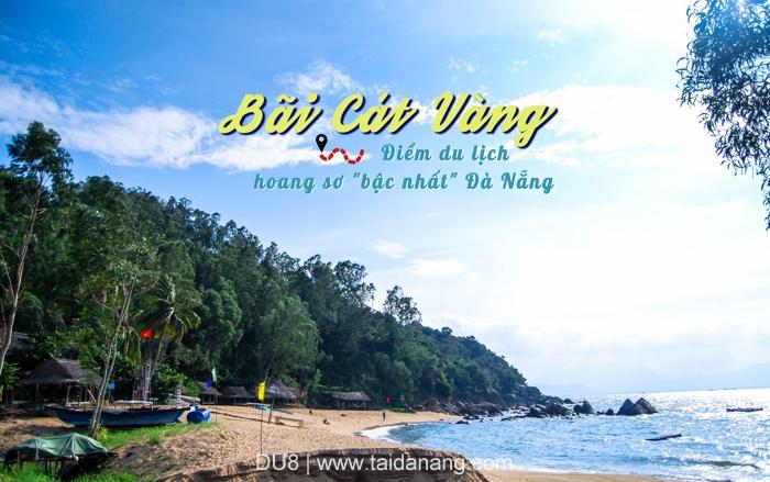 Bai cat vang Da Nang