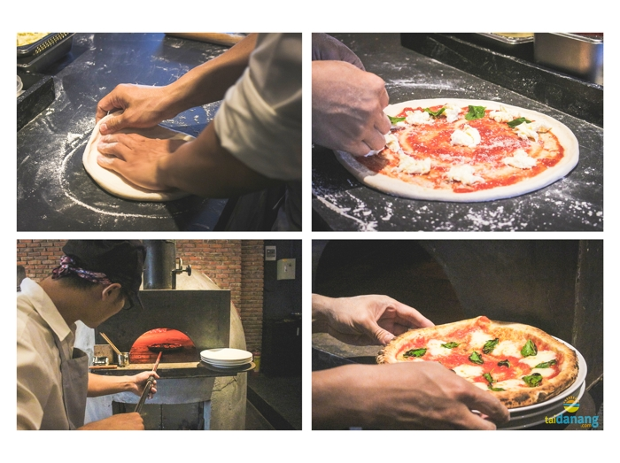 pizza 4P Da Nang