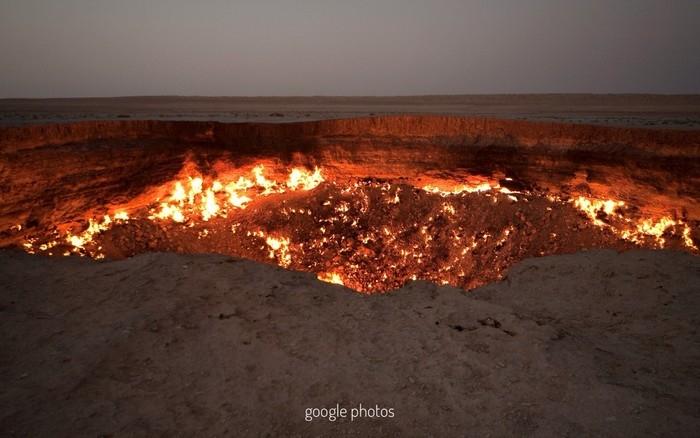 cong dia nguc Turkmenistan