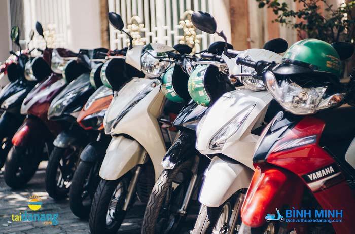 Dịch vụ thuê xe máy Bình Minh