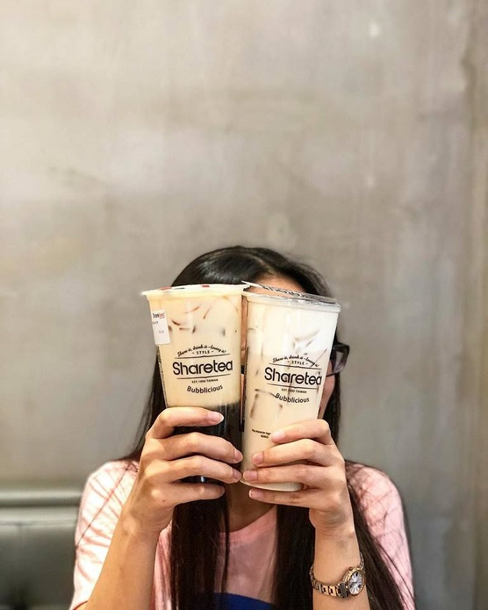 Share Tea - Trà Sữa trân châu thạch dừa