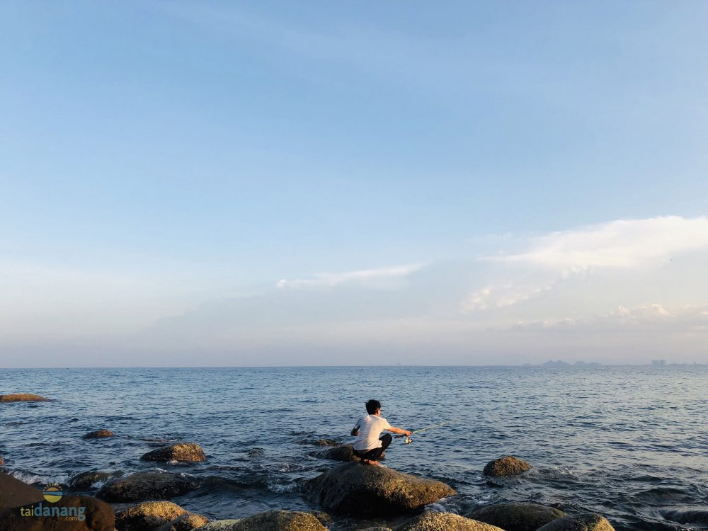 Vẻ đẹp thiên nhiên trong lành tại bãi Rạng