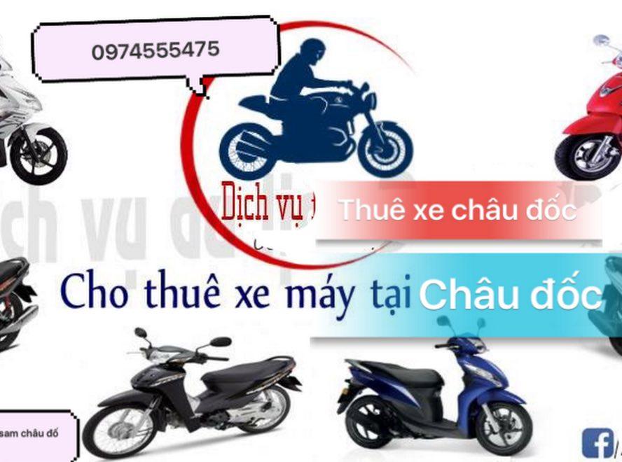 Thuê xe máy Chùa Bà Châu Đốc