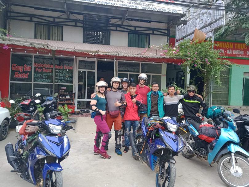 Cơ thuê xe máy Bắc Giang- Văn Khánh