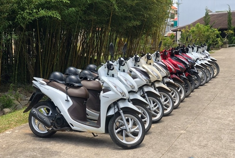 Thuê xe máy Bike Sài Gòn