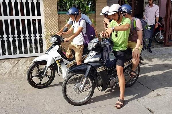 Thuê xe máy ở Chợ Lách