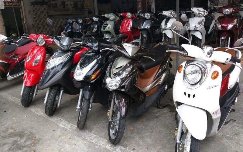 Thuê xe máy Bình Phước - Cửa hàng xe máy Tuấn Giang