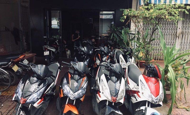 Thuê xe máy Cà Mau - Hồng Thắm ở Năm Căn