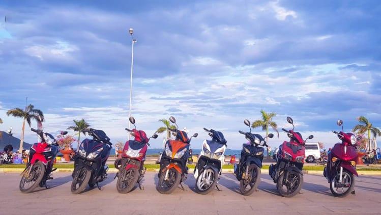 Thuê xe máy Cà Mau - Hạnh Phúc Guesthouse
