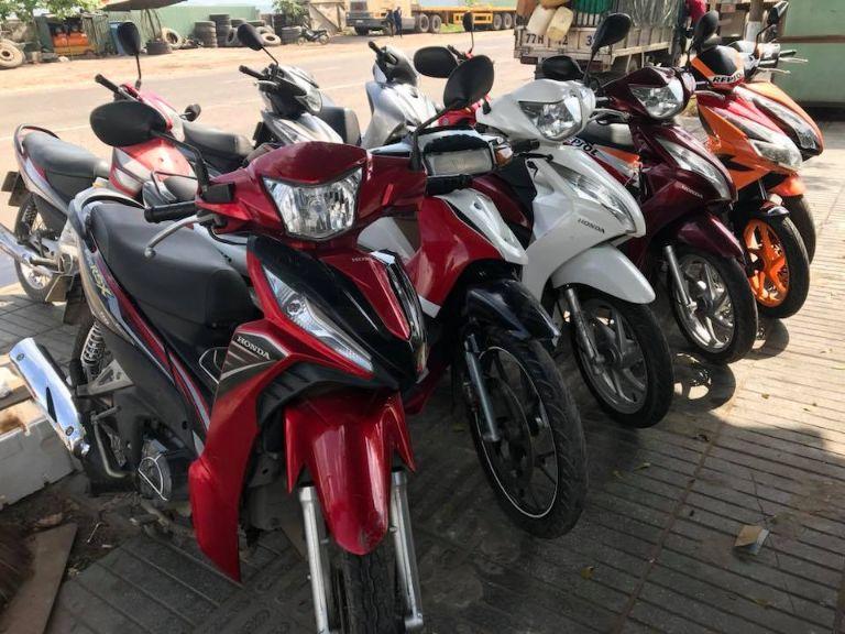 Thuê xe máy Cà Mau - Triển Lê