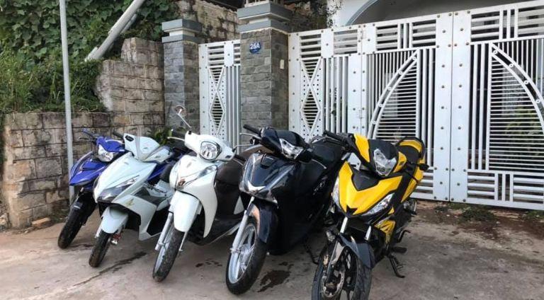 Thuê xe máy Cà Mau - Qúy Cọp