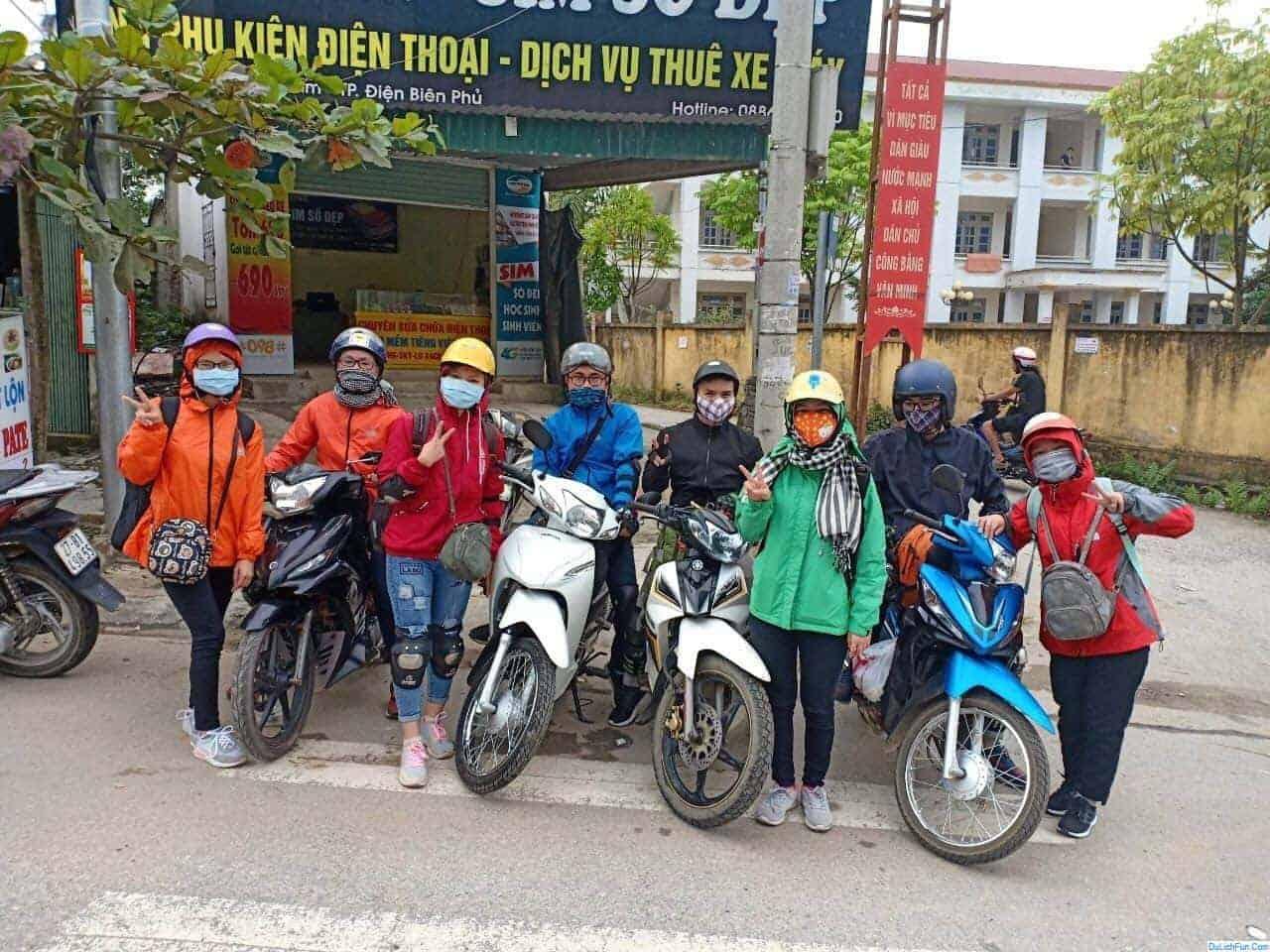 Thuê xe máy Điện Biên – Vương Khánh