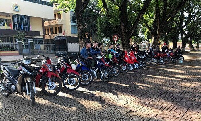 Thuê xe máy Buôn Ma Thuột - MInh Vương