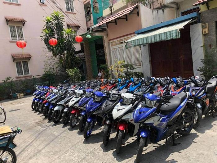 Thuê xe máy Vương Hải Hà