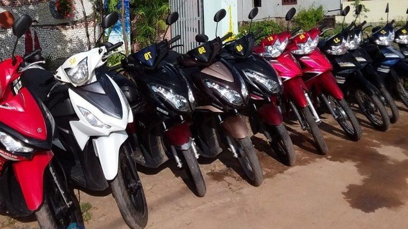 Thuê xe máy Đắk Nông - Khách sạn Thông Xanh