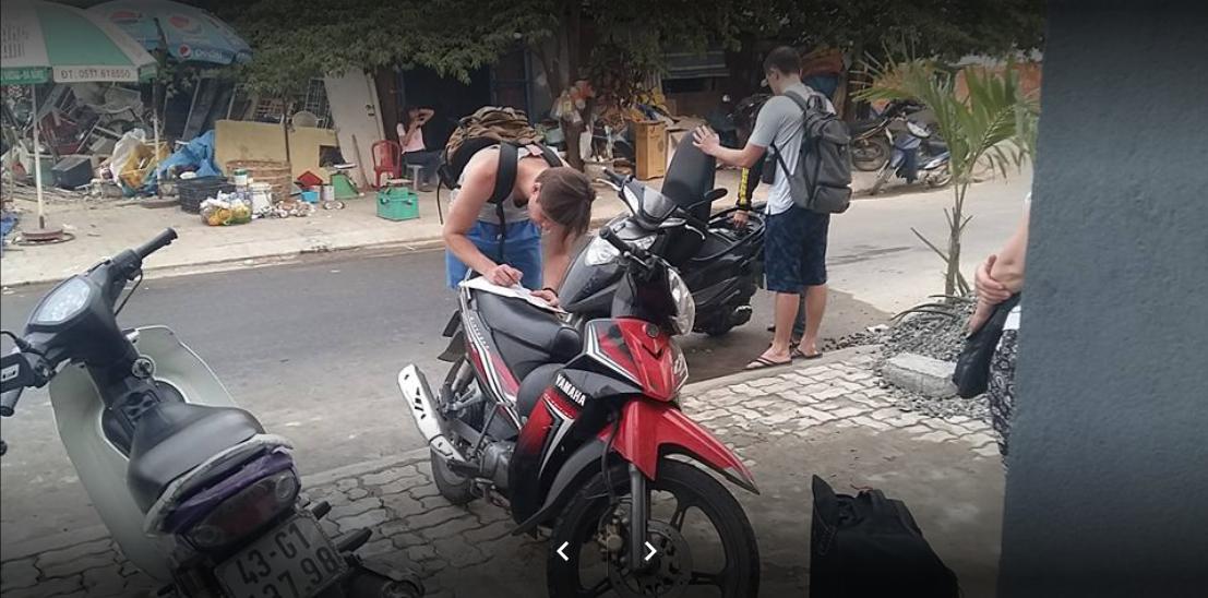 Dịch vụ thuê xe máy Bùi Việt Anh