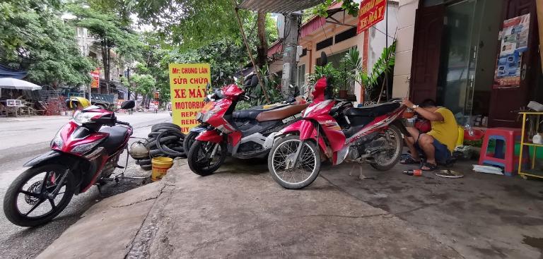 Thuê xe máy Hòa Bình – Chung Làn
