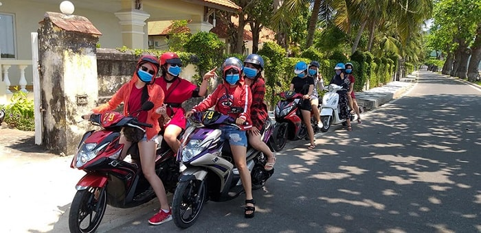 Thuê xe máy Thanh Đông