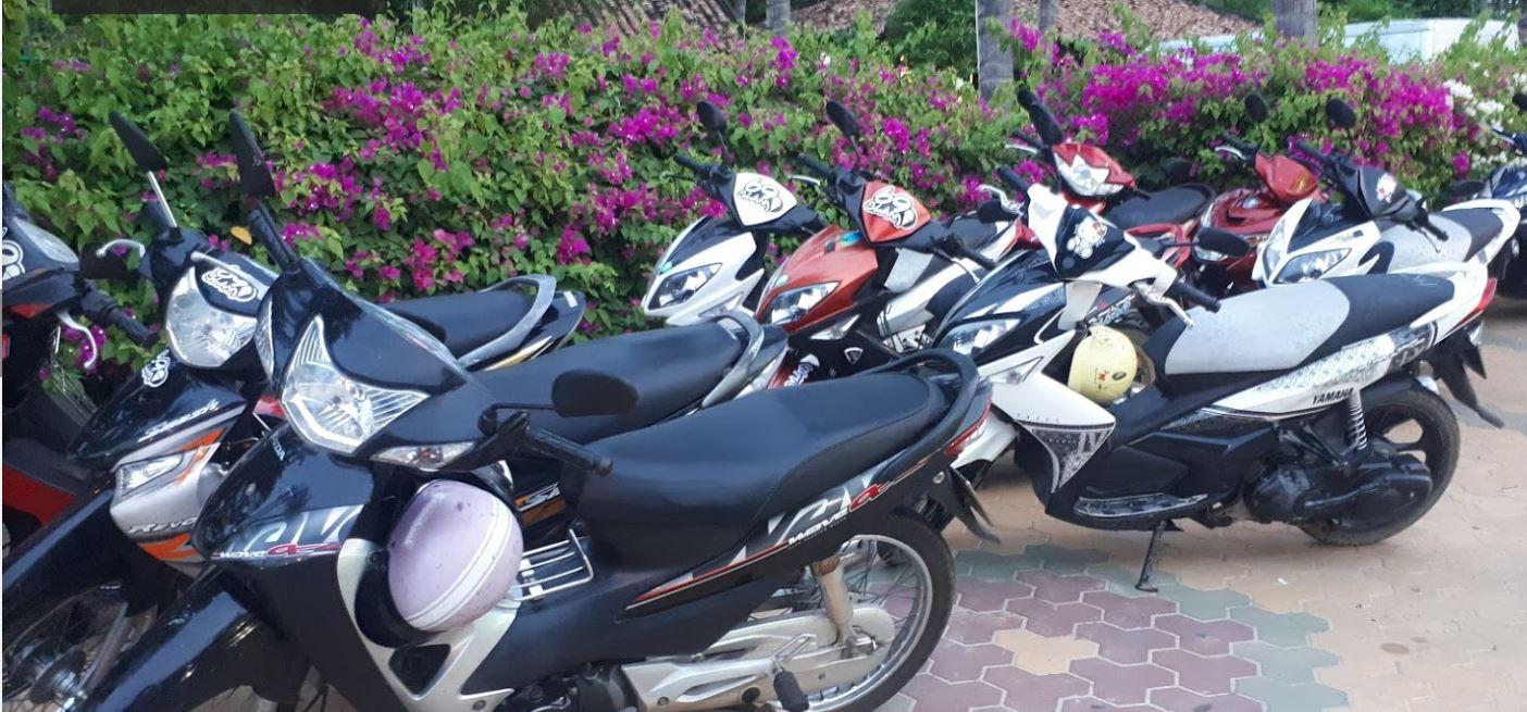Thuê xe máy Mũi Né - Thanh Phong