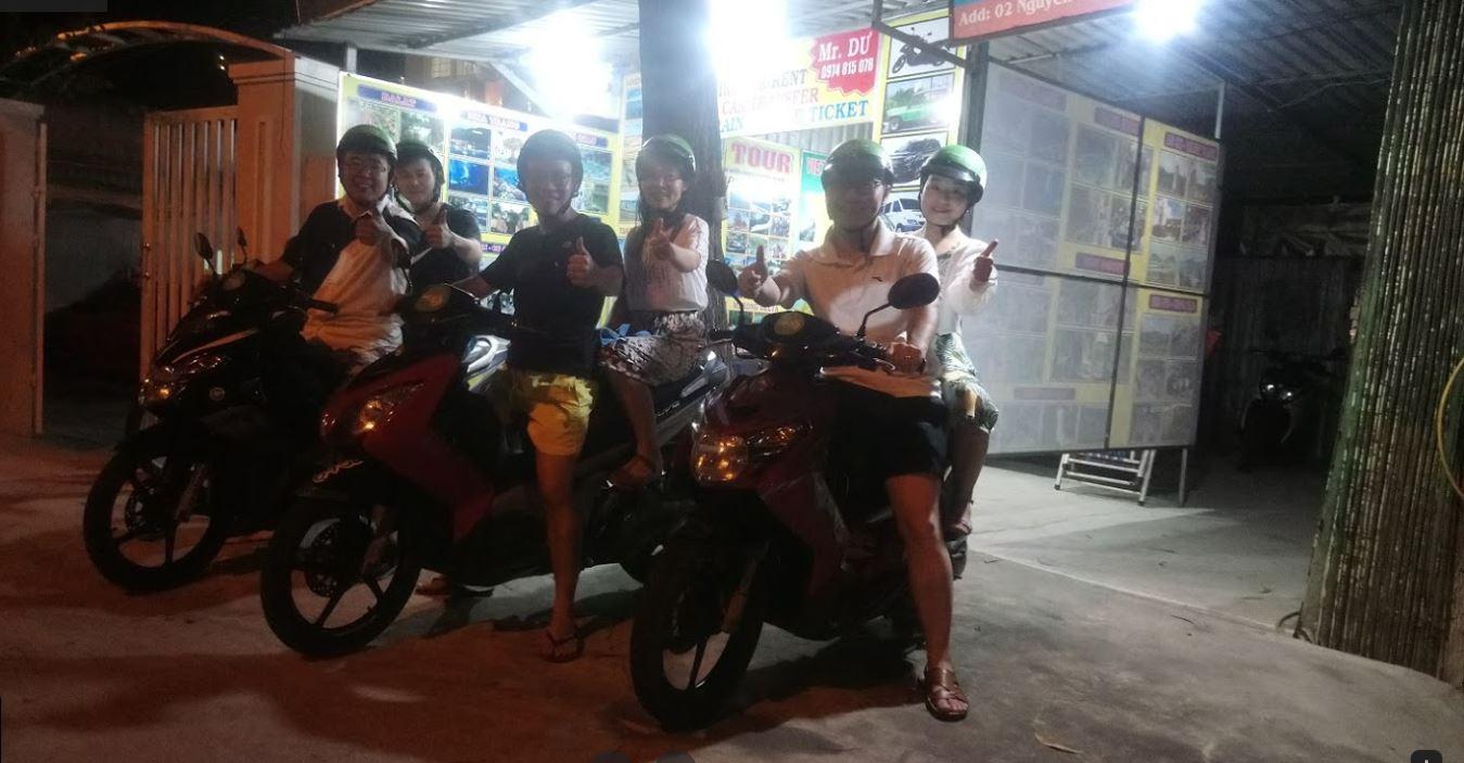 Thuê xe máy Mũi Né - Nhi Nguyễn
