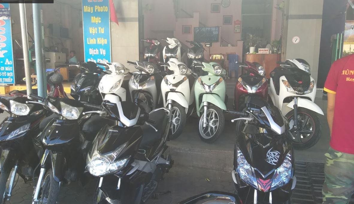 Thuê xe máy Mũi Né - Mr Bưởi