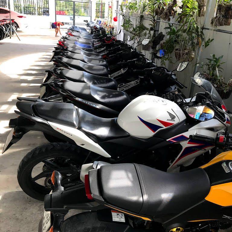 Thuê xe máy thị xã Hồng Ngự - Mai Khanh