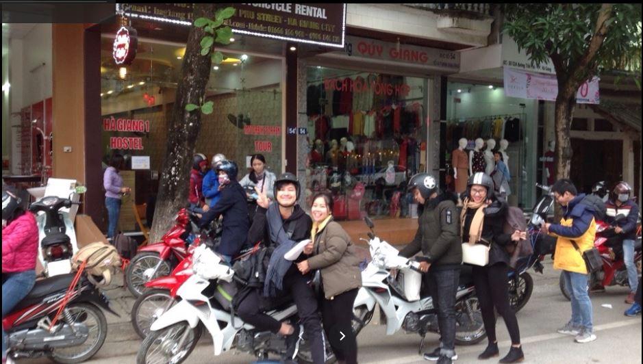 Cho thuê xe máy Hà Giang – Hagiang 1hostel and Motorbike rental