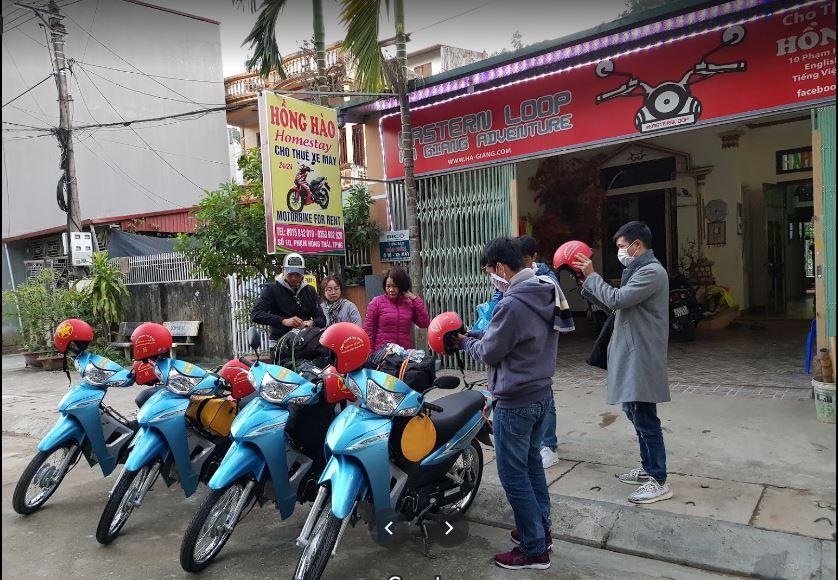 Thuê xe máy Hồng Hào