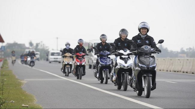 Thuê xe máy Long An – Minh Chánh