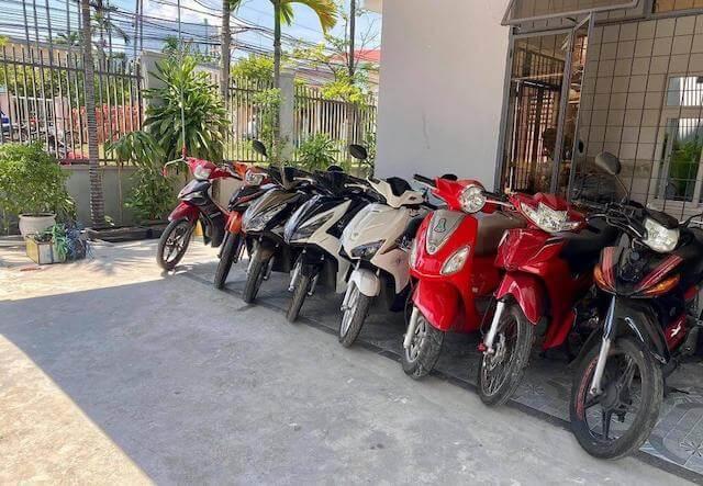 Thuê xe máy Long An - xemiennam