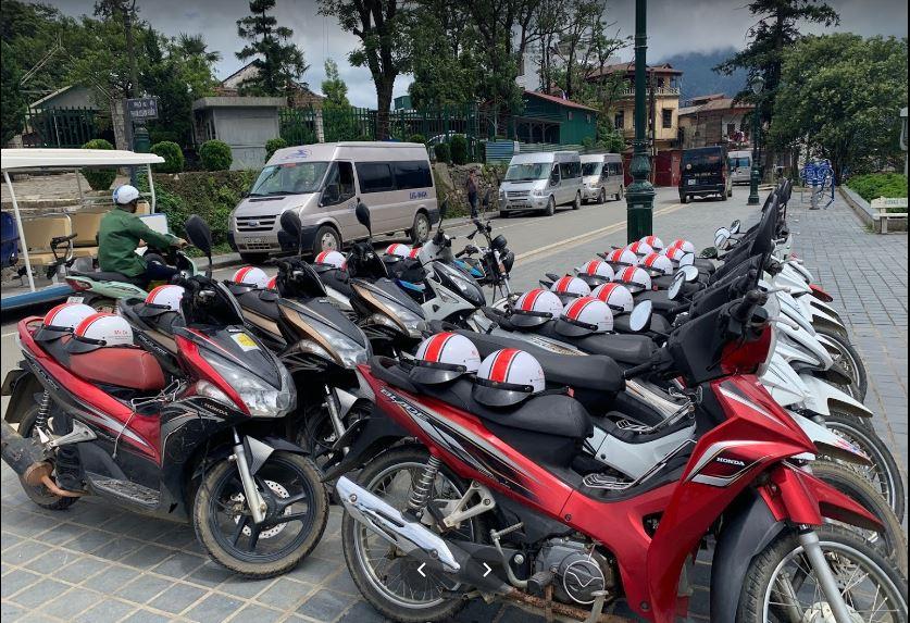 Thuê xe máy Minh Hải