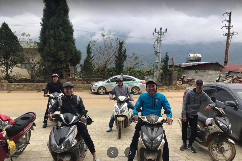 Cho thuê xe máy Khách sạn Phương Uyên