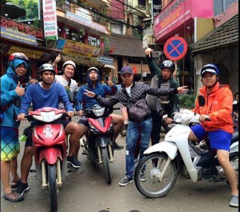 Thuê xe máy ga Lào Cai