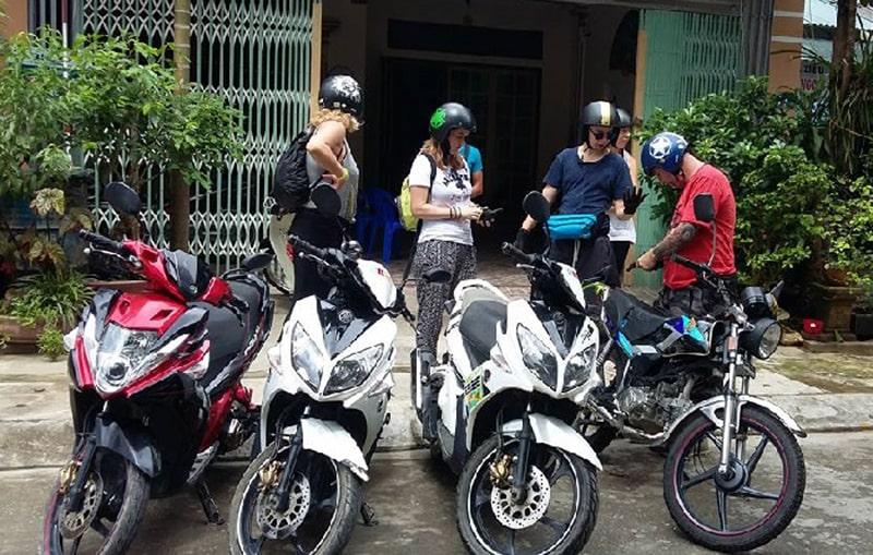Thuê xe máy Sơn Nam Hotel